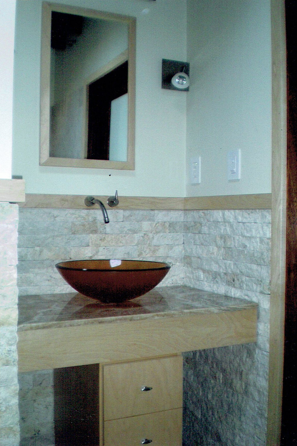 Natural Maple Vanity with Onxy Countertop.jpg