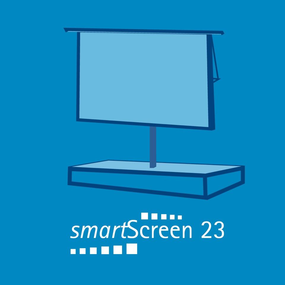 smartScreen 23 - 6.40 m Breite3.60 m Höhe