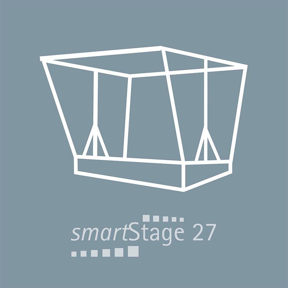 smartStage TEST - 27 qm Bühnenfläche5.95 m Breite4.55 m Tiefe4.70 m Höhe
