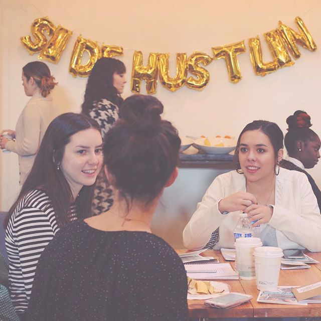 Our Side Hustlin' ladies are the best! ✖️We are so thankful for all of the awesome women who showed up and brought their experience, wisdom, connections and so much more to the table! 🙌🏼💕