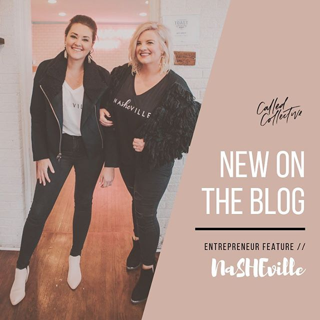 NEW ON THE BLOG 👀 Check out the new post from our girl boss friends over at @nasheville_ sharing a bit about their entrepreneurial journey. 💕 If you live in Nashville and haven't heard of their empowering community, you'll NEED to get involved.