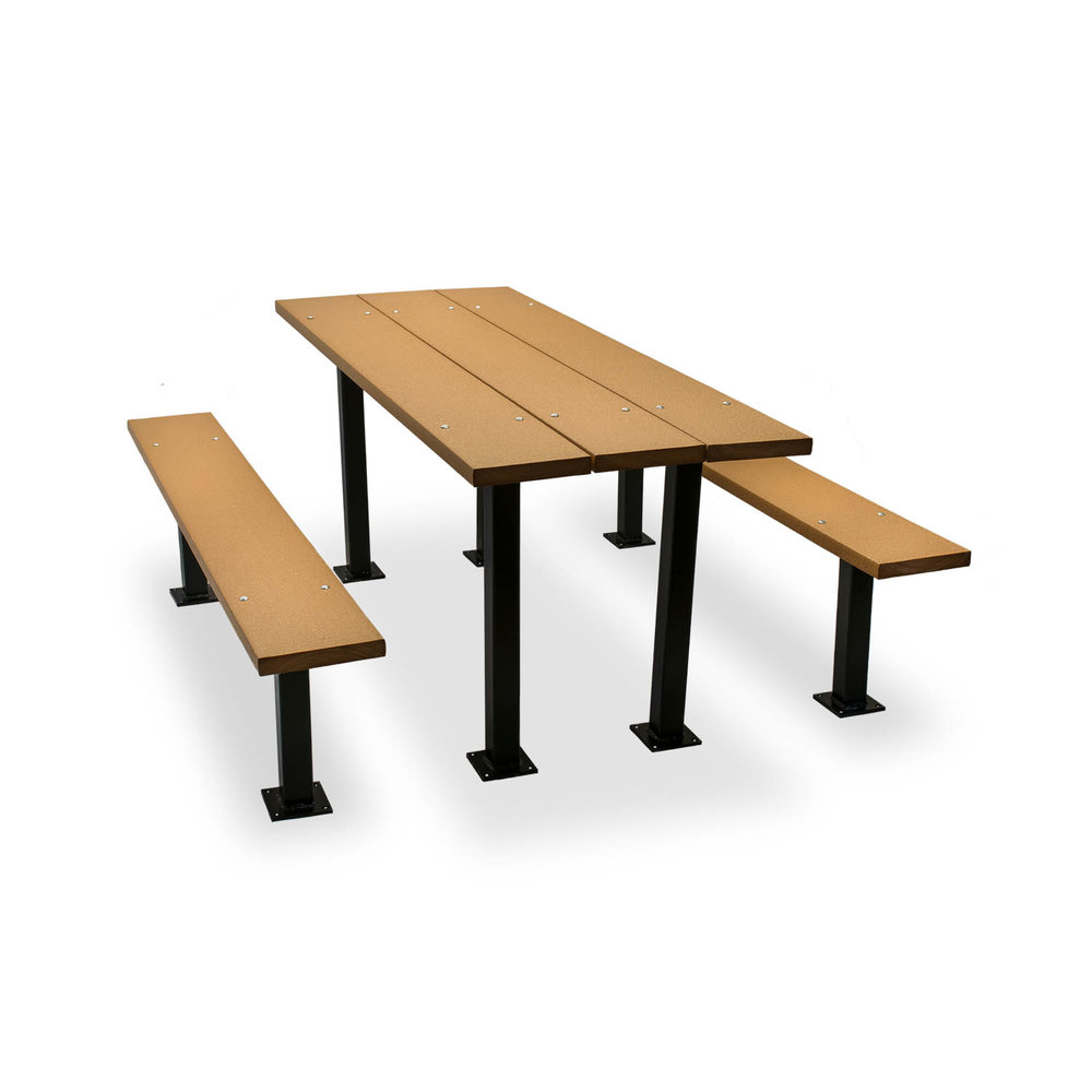 Cambridge recycled plastic picnic table picnic tables advantage outdoor products