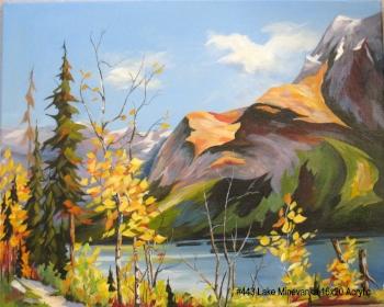 #443 Lake Minnewanka 16x20 Acrylic 029.jpg