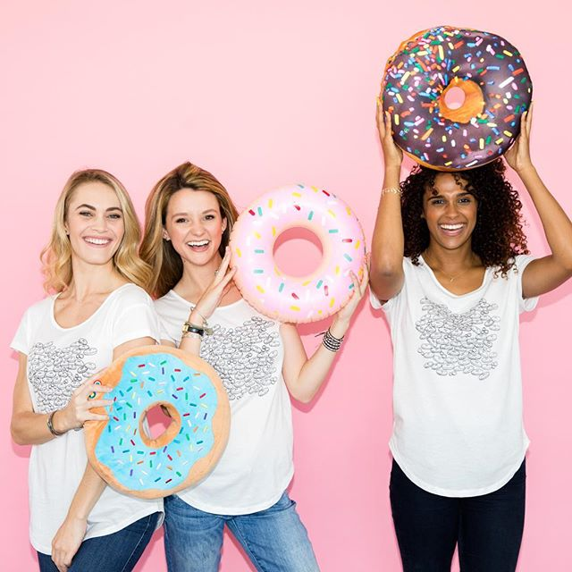TGIF --   definitely time for a donut [tee] [✨👚] enjoy your fresh sweet tee today #sweetteebyav #linkinbio [🍩🍩🍩]