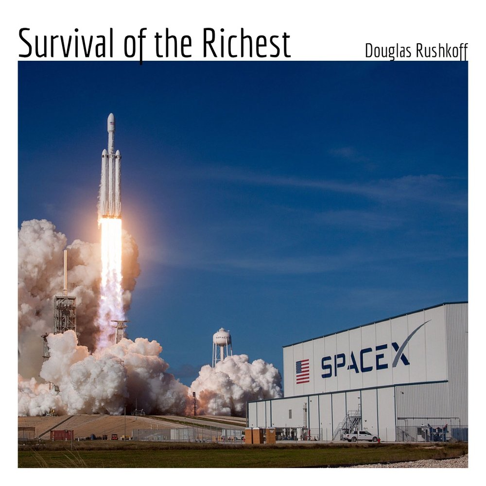 #138 | Survival of the Richest: Anticipating 'The Event' & The Anti-Human Agenda w/ Douglas Rushkoff