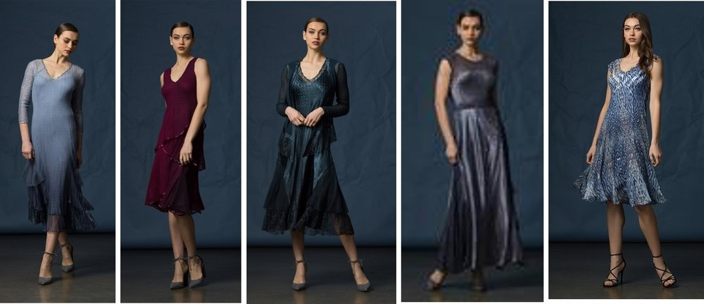 New from Kamorov - Hand Made in Komarov's Los Angeles Studio.All garments are pleated using both modern methods and the age-old artistry of hand pleating.