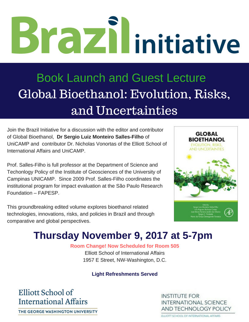 Room Change for Global Bioethanol book launch.png