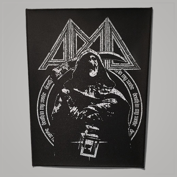 """Death In My Wake"" Back Patch"