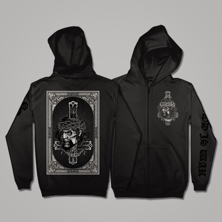 """God Is War"" Hooded Sweatshirt"