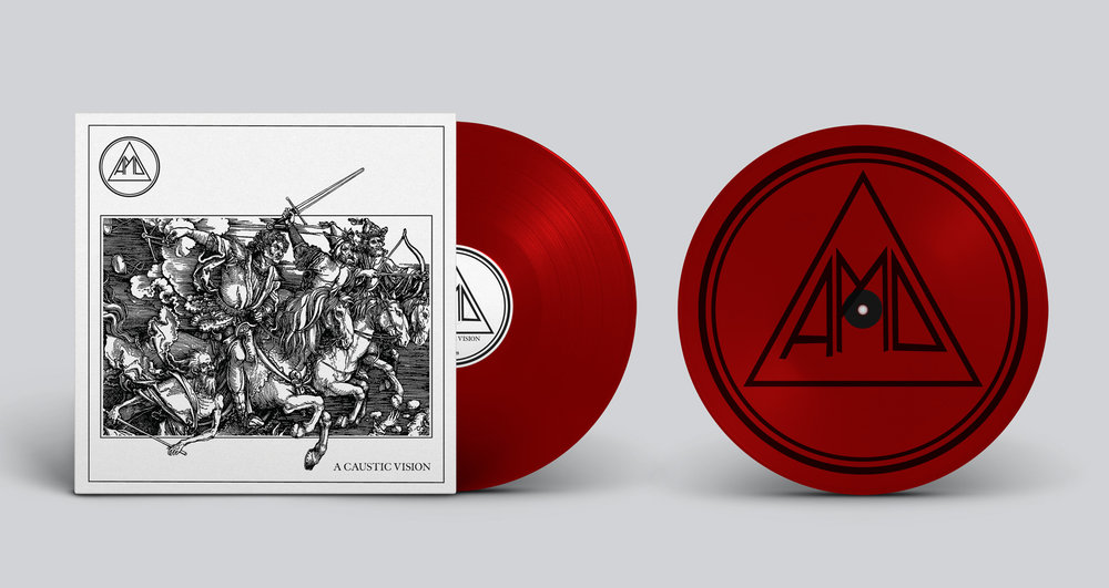 Opaque Red Vinyl w/ Black Screen Print 313 copies (Southern Lord exclusive)  BUY