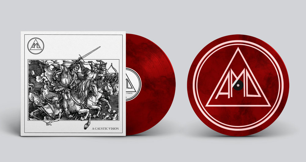 Blood Red & Black Marble vinyl 105 copies (Band Exclusive)  B  UY