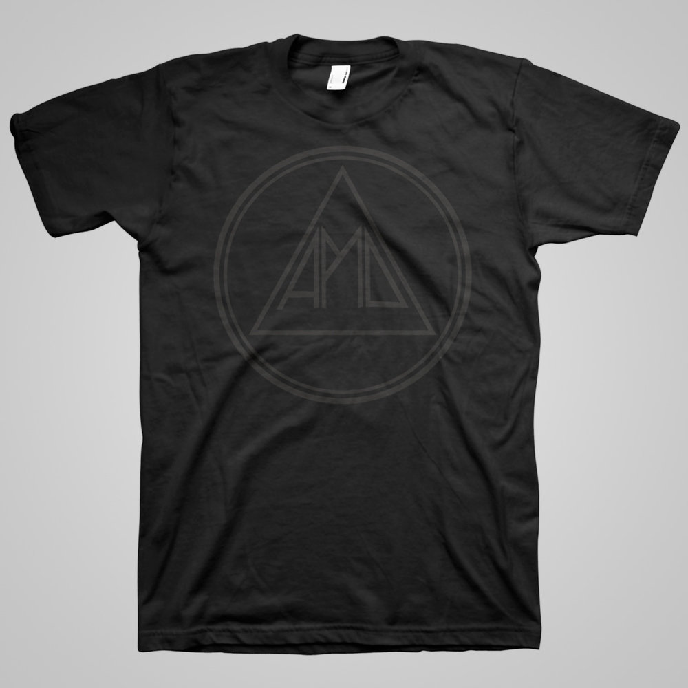 """Black on Black Logo"" Shirt"