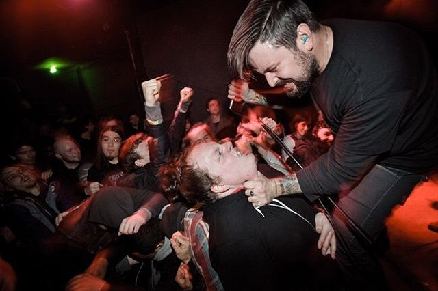 A little crowd participation at Acheron (RIP) In Brooklyn, January 2012. Photo by @shootwillie