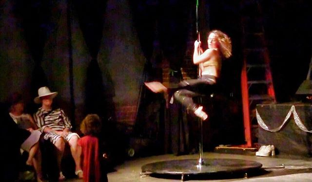 About 3 1/2 minutes into my soul-pole dance yesterday at @wearethesecretcity LA event a three-year-old girl from the audience walks right up and onto the stage as I'm dancing and just holds there mesmerized as if watching a fairy in flight. Her innocence taking my breath away even now... May we all remember to see through the eyes of the children we once were. #soulfood #magic #bootlegtheater  #weareconnected