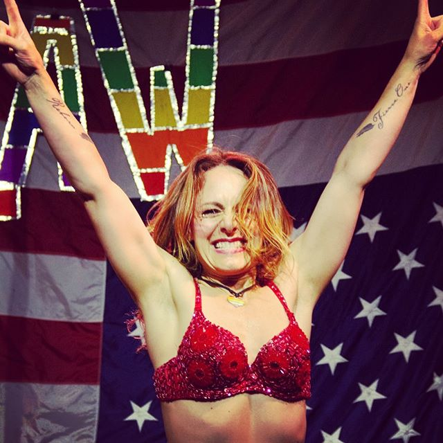 So excited!! Here's a few new pics from my poledance theater piece I performed last weekend for @laladyarmwrestlers @bootlegtheater !! A beautiful night of #pride🌈 celebration and a very successful fundraiser for @bravetrails ! #community #lalaw #losangelesladyarmwrestlers #losangeles #queensayswhat #loveislove #joy #poledancing 🏳️‍🌈🦄❤️💪