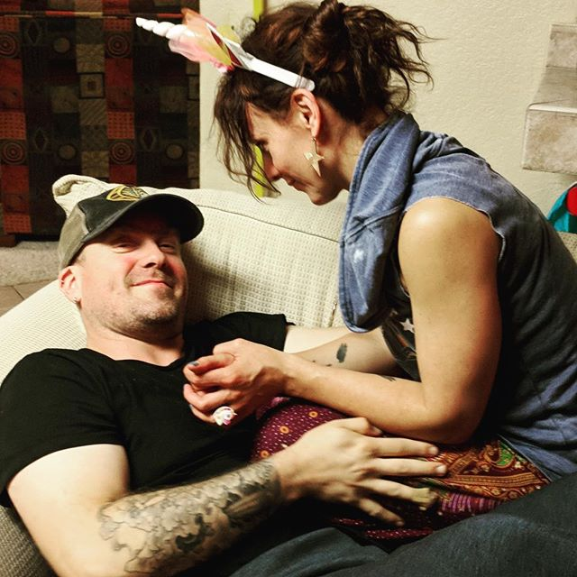 This guy. My tattooed warrior of the heart. ❤️ A way-shower. A beautiful soul. #hubby #love