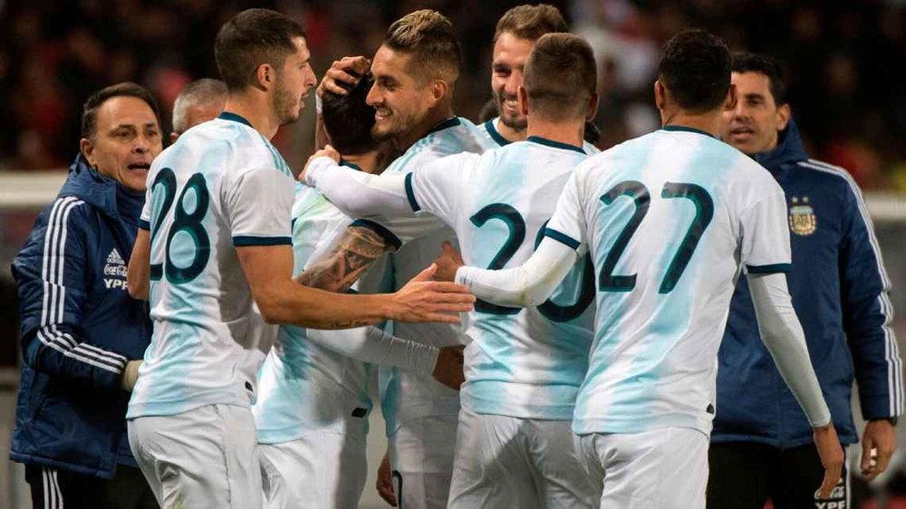 CORREA'S LATE GOAL GIVES ARGENTINA MORALE-BOOSTING WIN IN MOROCCO