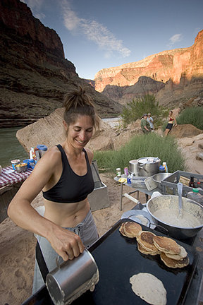Breakfast in the Grand Canyon