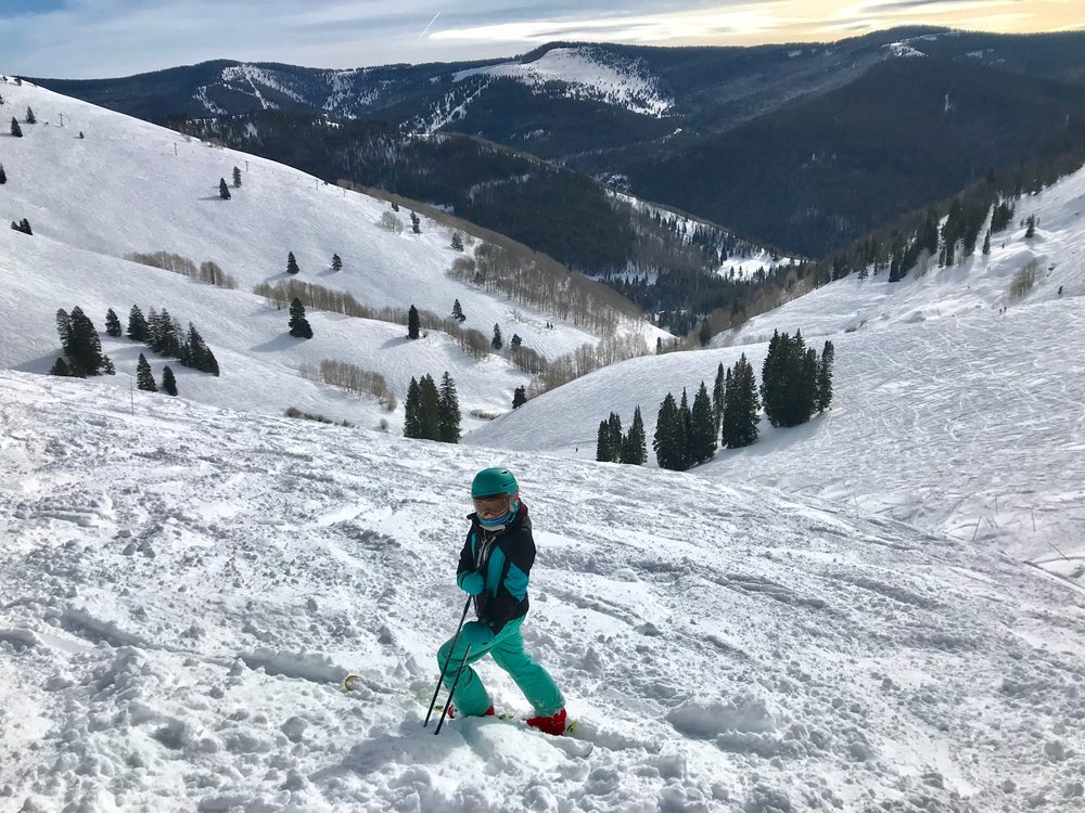Hannah takes a quick break in Breckenridge, CO. Photo: Emma Musgrove