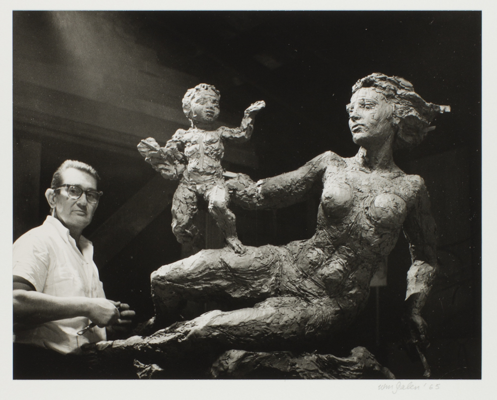 Frederic Littman , William Galen (American, active 20th century), 1965, gelatin silver print, 7 1/2 in x 9 5/16 in, from collection of Portland Art Museum