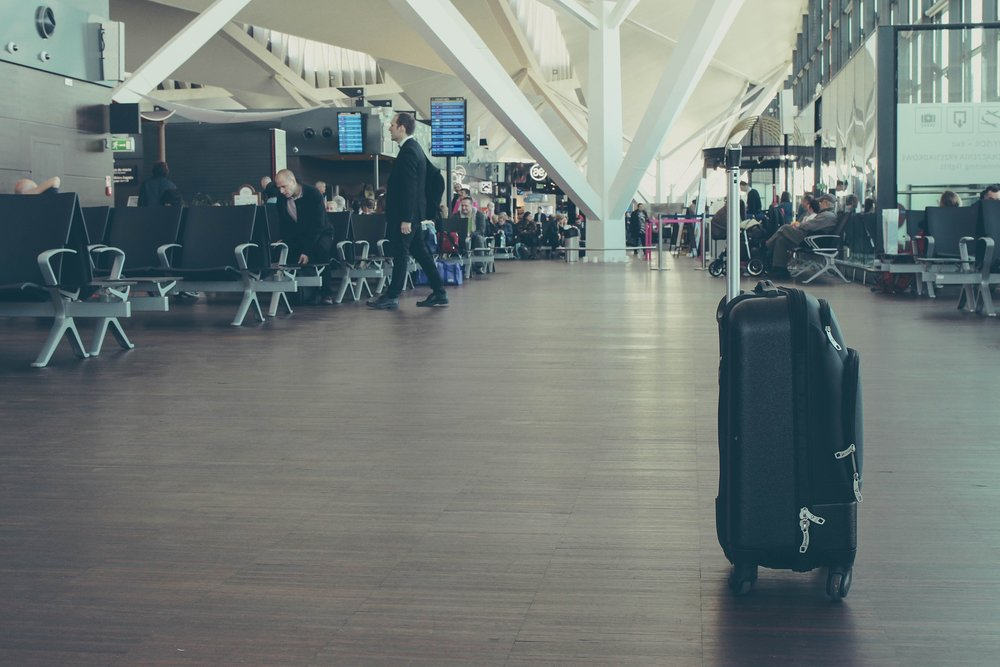 wellness bridge luggage airport