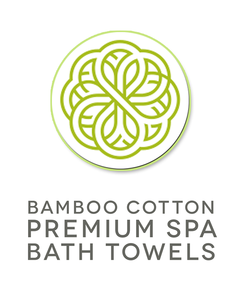 Bamboo Cotton Spa Towels are Mildew Free. Easy to Wash and Dry. Extra Large for Extra Warmth.