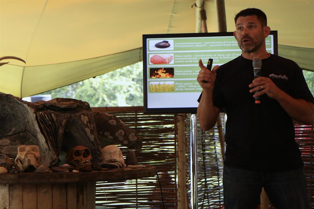 Presenting at the ODAIOS Elements Tented Food Event in Dublin (September 2016)