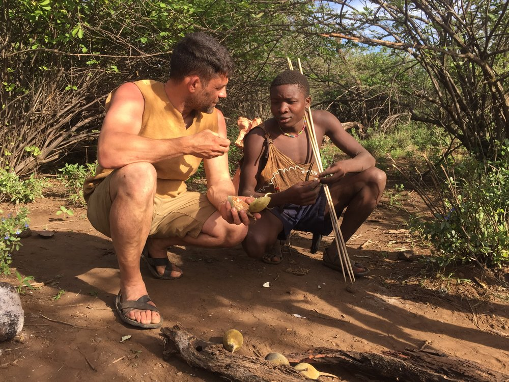 Foraging with the Hadza