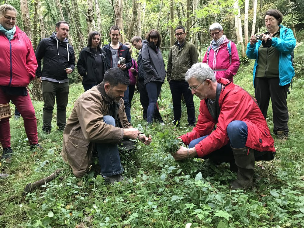 Wild Food Outing -  Join Michelin Star Chef, Kevin Thornton of Thornton Kooks, and Dr Bill Schindler of National Geographic's show, The Great Human Race, as they led participants on a Forest Foraging Trail as they hunt and cook wild, edible wonders.