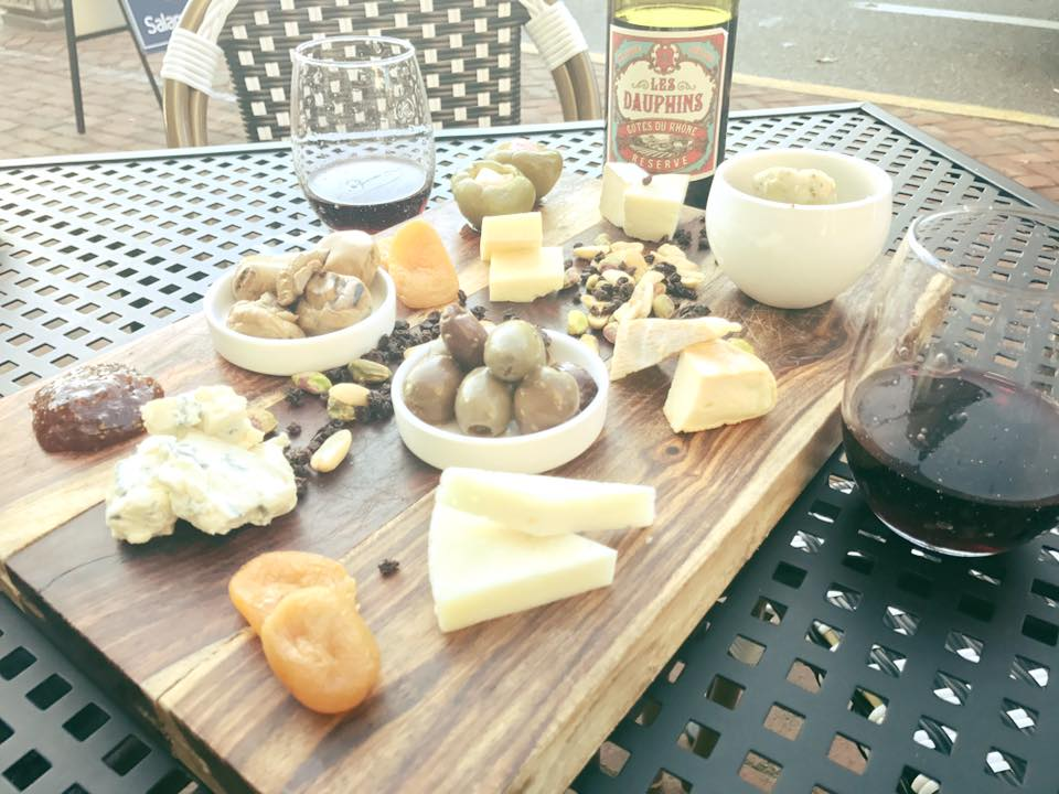 Delicious cheese paired with wine, olives, dried fruit and nuts in Chestertown, MD at  The Chester River Wine & Cheese Company