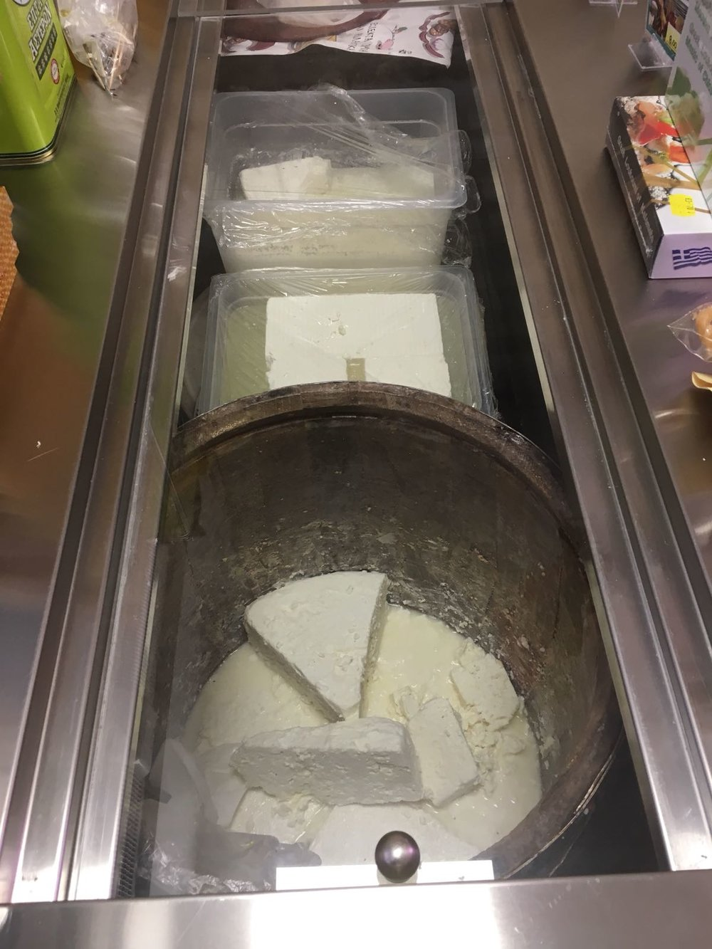 Feta was everywhere but where were the molds?
