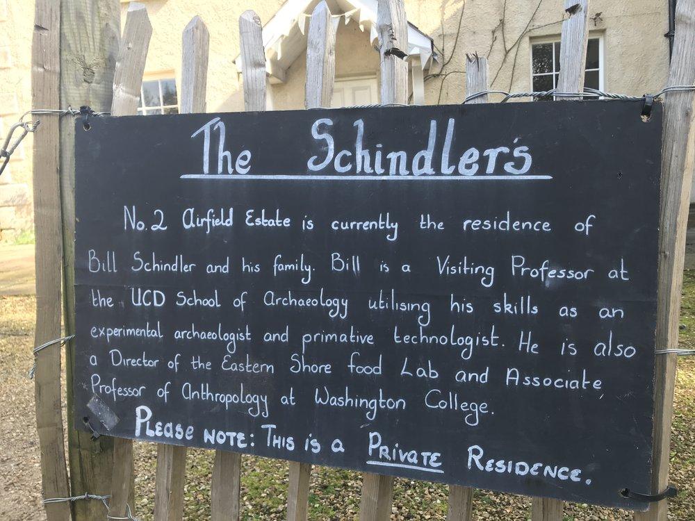 Schindler Sign
