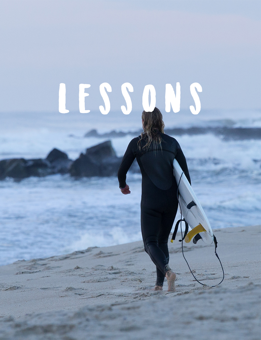 Want to learn to surf or paddleboard? Want to take your skills up a notch?! Take a lesson with Lucky Dog Surf Co.!