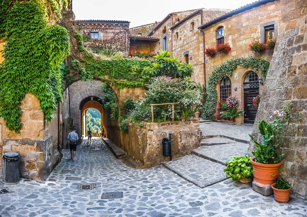 - We challenge traditional travel packages and do not view Civita Bagnoregio as an