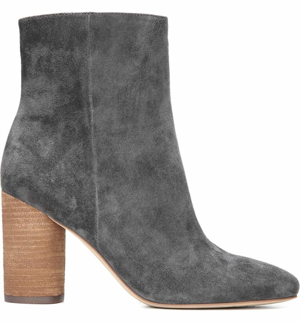 The Perfect Bootie - Suede is in! These cute suede booties match almost any outfit.