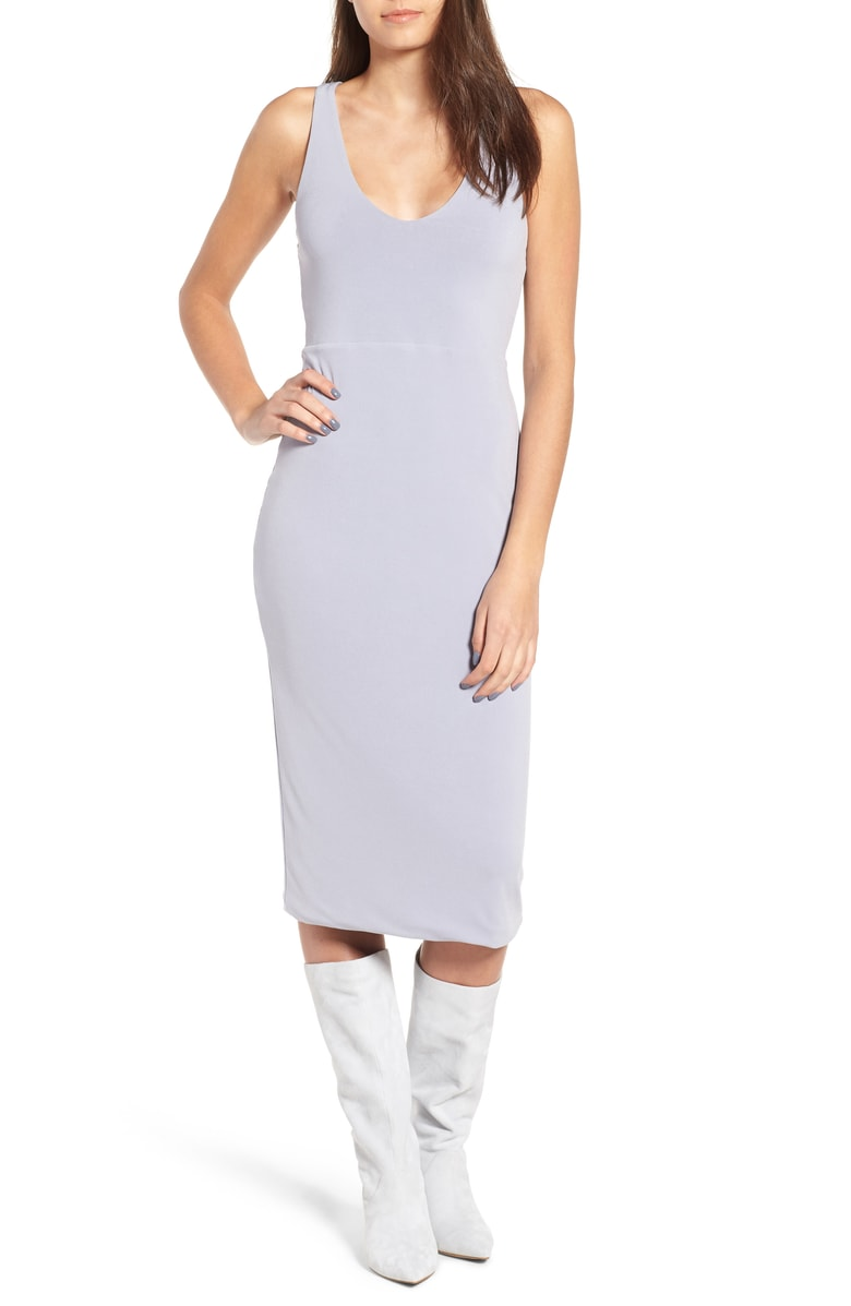 Leith Sleek Knit Midi Dress, Sale: $42.90 // Post Sale: $65