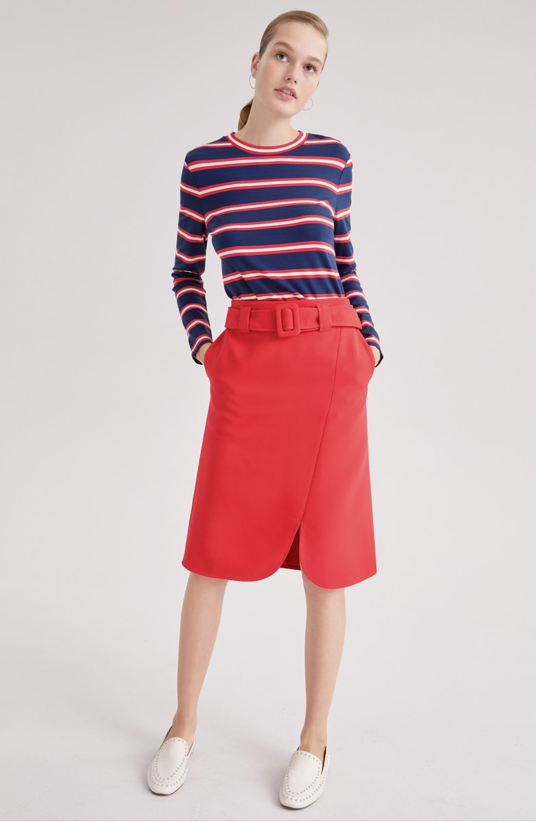 Halogen® Stripe Knit Top, Sale: $38.90 // Post Sale: $59