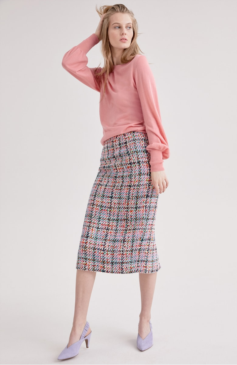 Halogen® Tweed Mini Skirt, Sale: $58.90 // Post Sale: $89