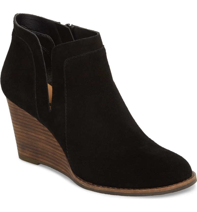 Lucky Brand Yabba Wedge Bootie, Sale: $86.90 // Post Sale: $129.95