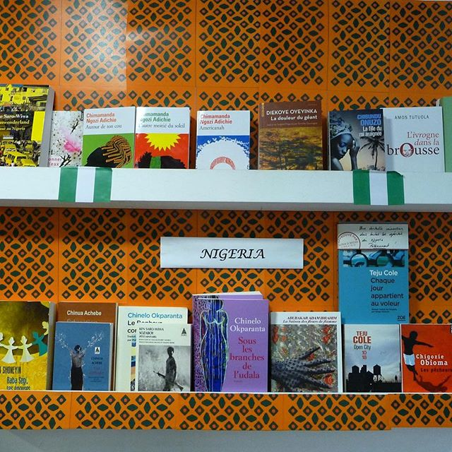 Le Nigeria est a l'honneur cette semaine à la librairie @larbrealettres (Paris) #repost