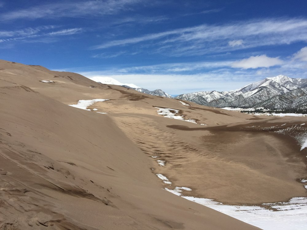 Great Sand Dunes National Park, April 2017