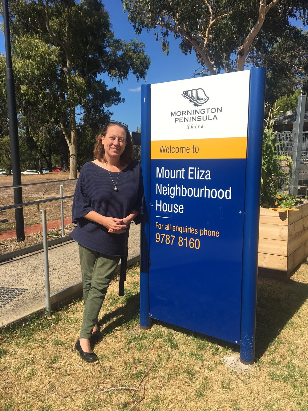 Becca Smith Manager of Mount Eliza Neighbourhood House.JPG