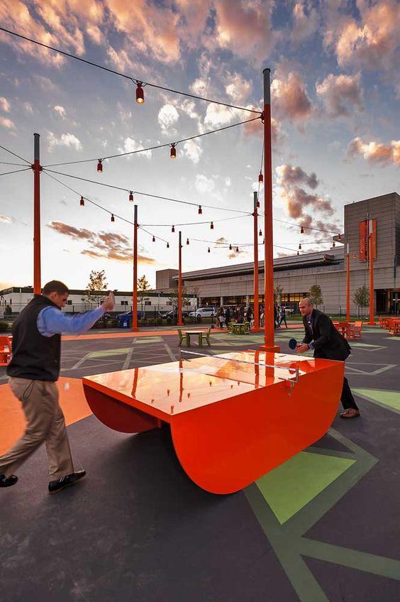 Create an urban games park -