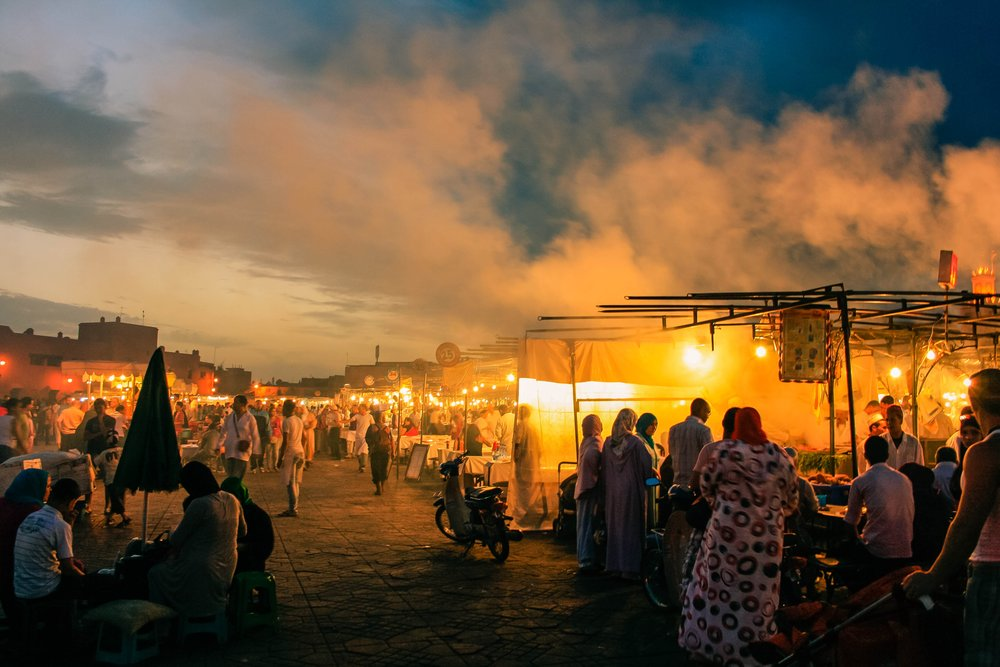 Start a food festival -