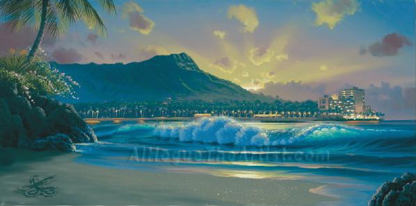 Waikiki Daybreak