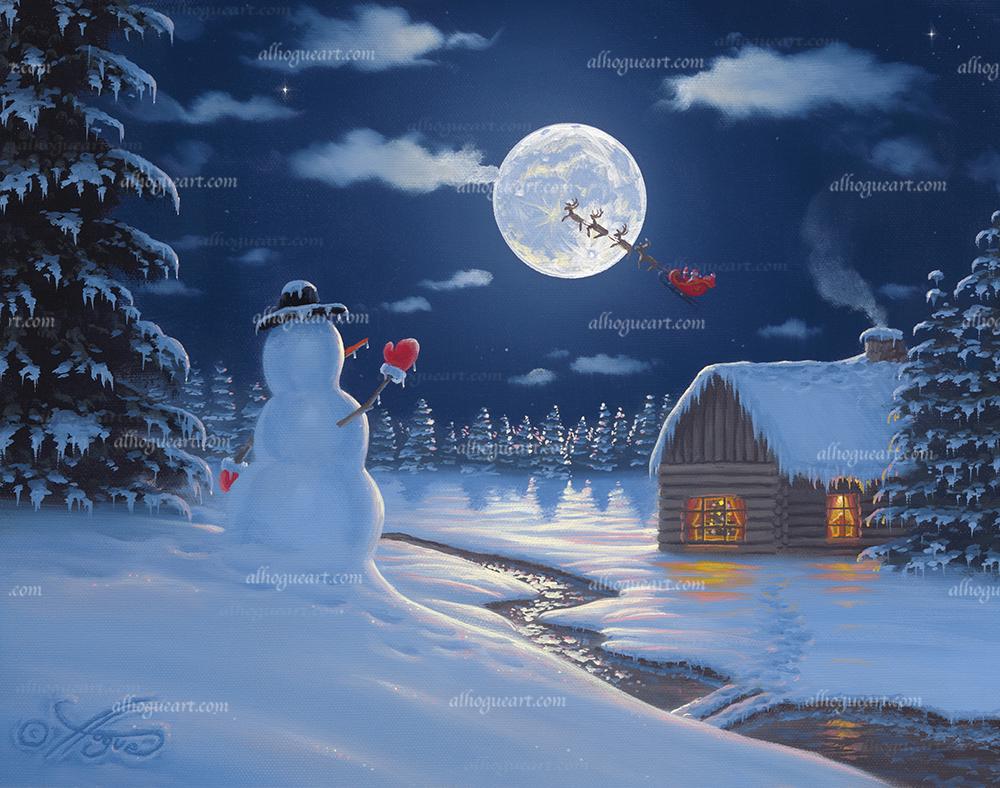 """""""Christmas Moon"""""""