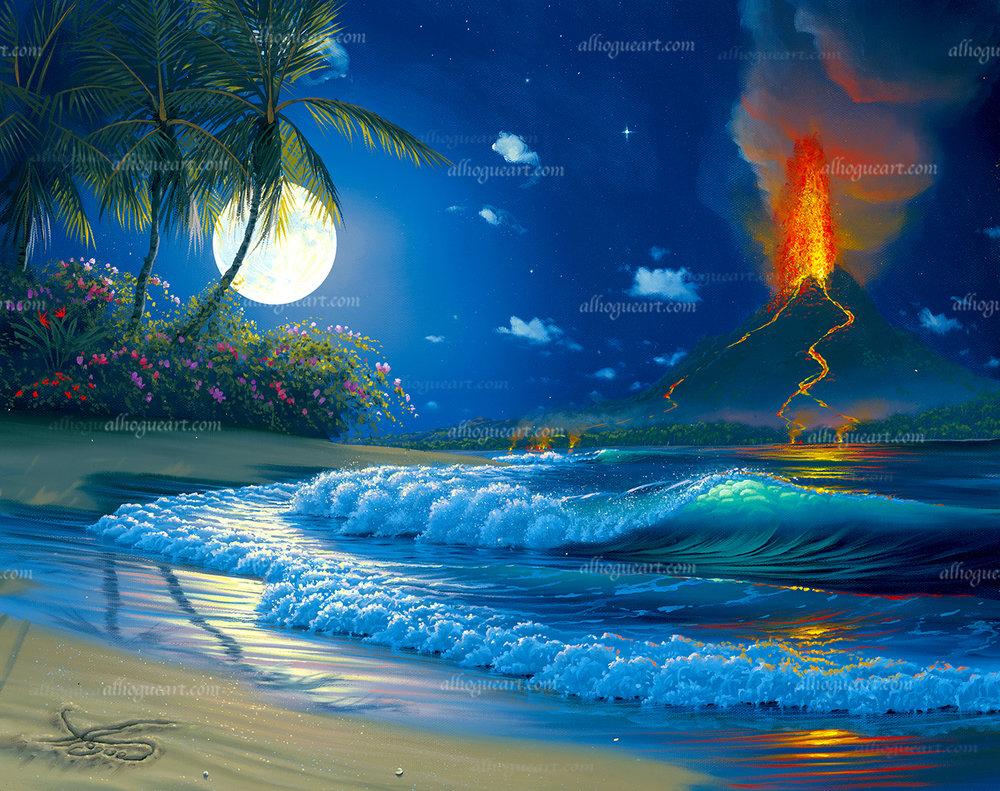 """Volcano Moon"""