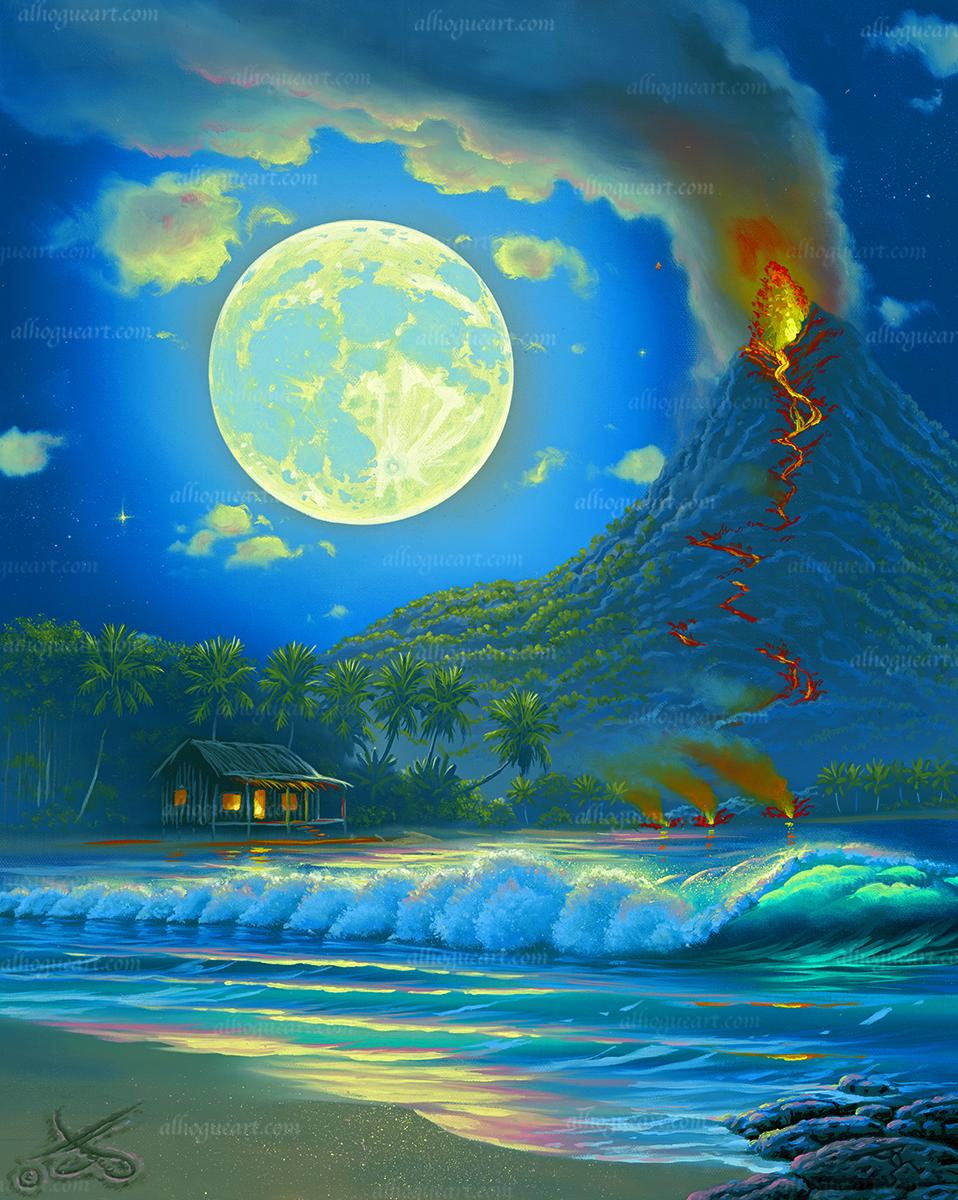 """Birth Of An Island"""