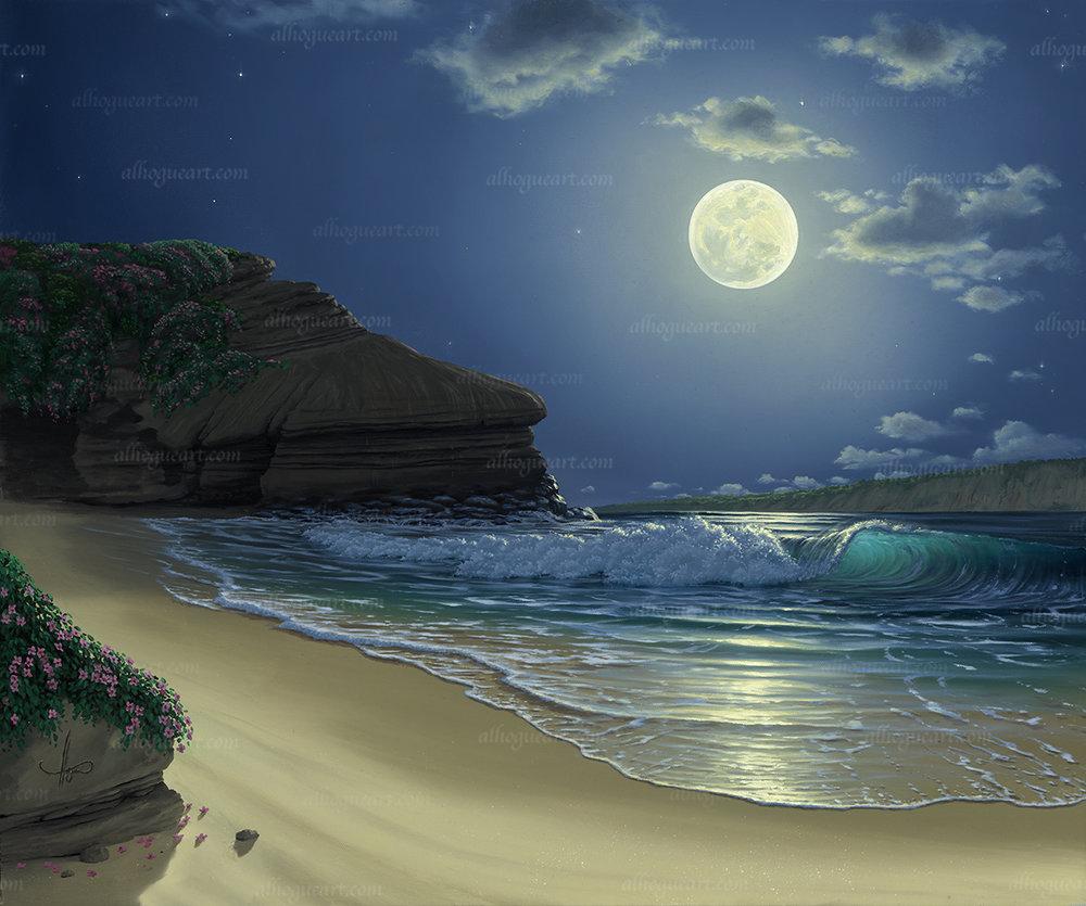 """La Jolla Moon"""