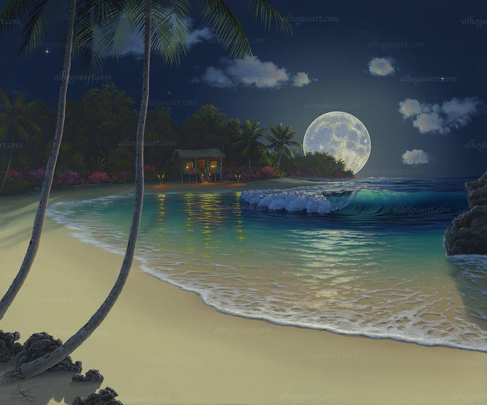 """Lunar Solitude"""